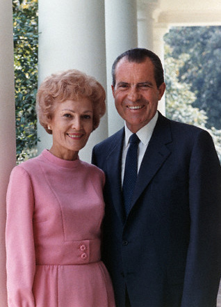President Richard Nixon and First Lady Pat Nixon