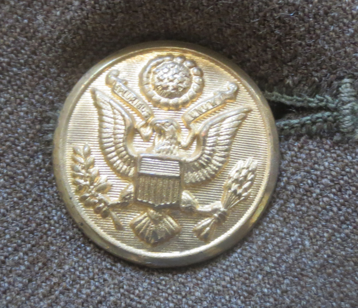 World War Two Army Uniform Button
